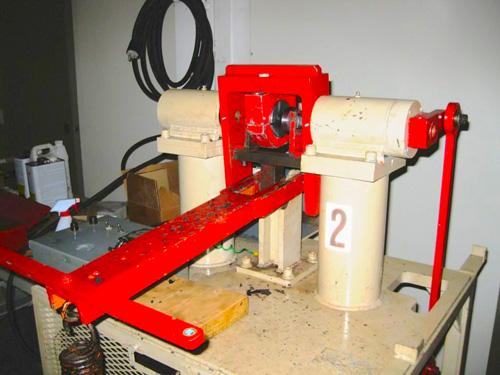 Wahl & Straub Style Standard Bushing Test Machine